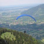 Tandemflug am Brauneck 2003